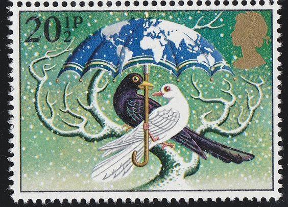 stamp British